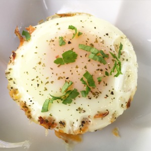 Sweet Potato and Egg Cups