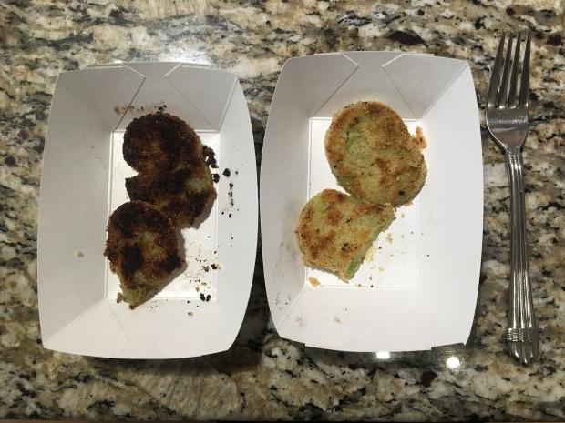 Test kitchen results