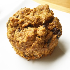 Gluten Free Carrot Muffin using oat flour